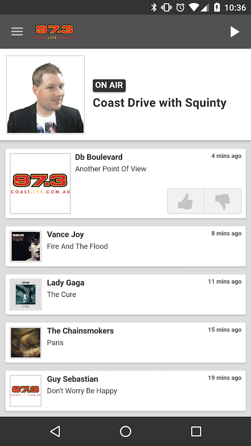 Coast Live- screenshot