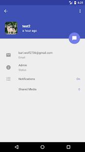 2CHAT Messenger - náhled
