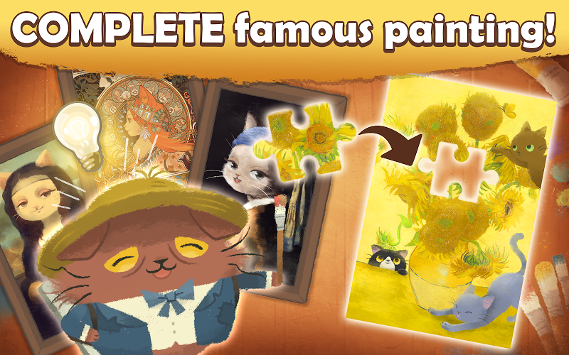 Cats Atelier -  A Meow Match 3 Game Screenshot 2