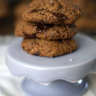 Flourless Almond butter Chocolate chunk Cookies.