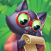 Tropicats: Tropical Cat Island Free Match 3 Game