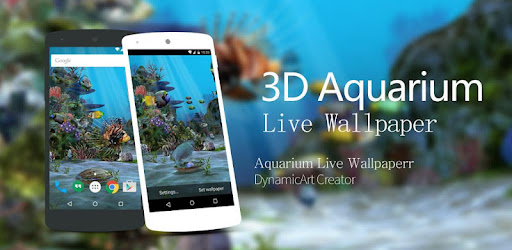 3d Aquarium Live Wallpaper Hd Apps On Google Play