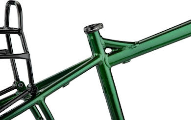Salsa Blackborow Fat Bike Frame - Aluminum Green alternate image 1