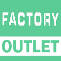 Factory Outlet Online shopping icon
