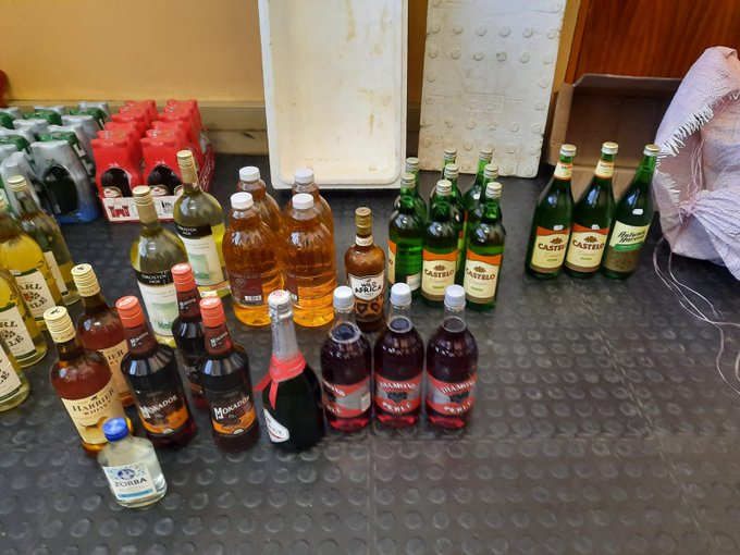 A man was arrested at his house in Kimberley for selling liquor to the public in contravention of lockdown regulations.