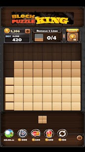 Block Puzzle King Mod Apk: Wood Block Puzzle 8