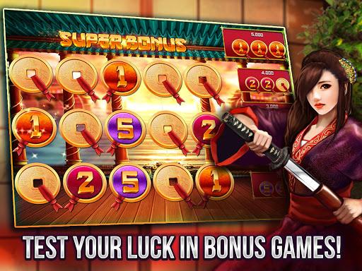 Free Vegas Casino Slots - Samurai  screenshots 13