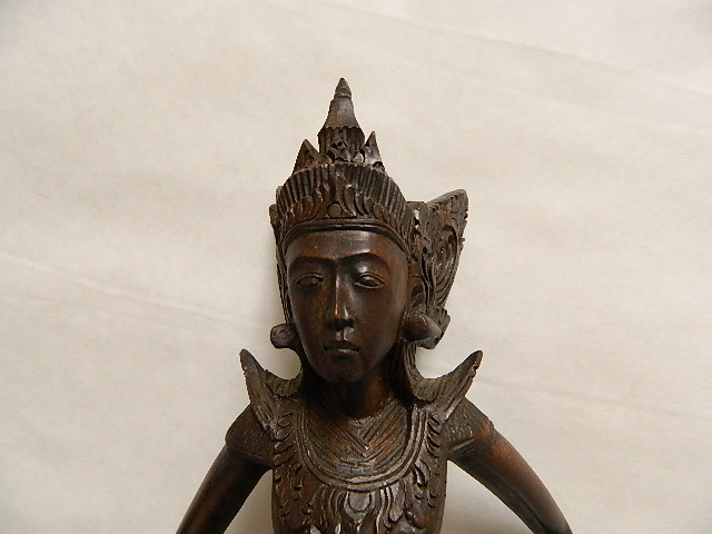 Photo: Indonesian Goddess at Objets D'Art