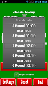 Boxing Interval Timer screenshot 4