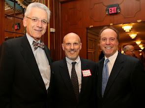 Photo: Lonnie Powers (MLAC), Judge Robert Foster (Land Court), and Sandy Moskowitz (Davis Malm).
