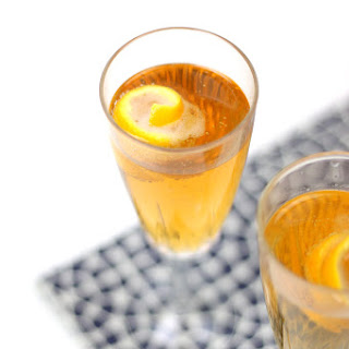 Seelbach Bourbon Champagne Cocktail.