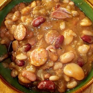 Bean Soup w. Andouille Sausage ( Crock Pot).