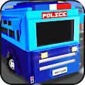 Blocky Police Prison Transport icon