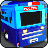 Blocky Police Prison Transport