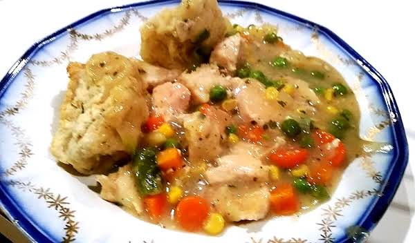 Winner, Winner Chunky Chicken & Dumplings Dinner Recipe