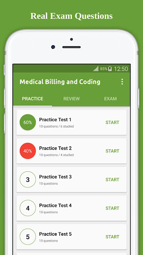 Medical Billing Coding Flashcard 2017 screenshot 1