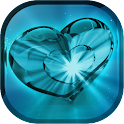 Glow Heart Live Wallpaper icon
