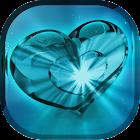 Glow Heart Live Wallpaper icon