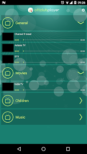 OTTClubEU Player 2.8 MOD for Android 2