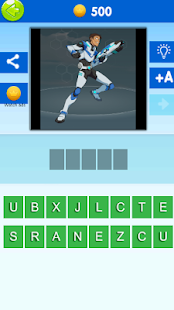 Quiz Voltron. Guess the character of Voltron 1