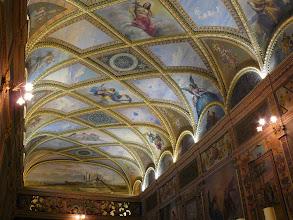 Photo: Capilla del obispado: alegorías de las virtudes