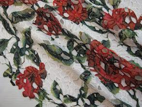 Photo: Ткань: кружево, ш. 125 см., цена 5500р.