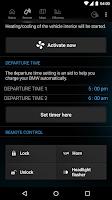 Screenshot of My BMW Remote