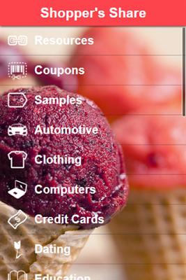 Shopper's Share - screenshot