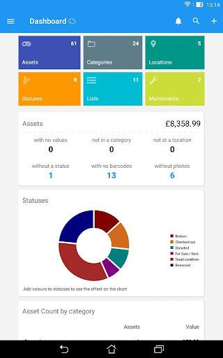 Asset Manager (Cloud) by SegBay Software (Google Play