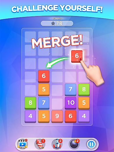 Merge Number Puzzle apktram screenshots 9