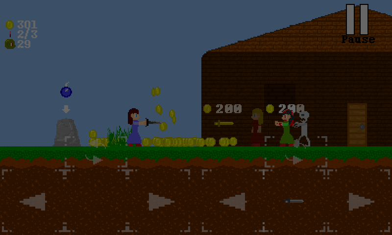 Zombits Trouble 2- screenshot