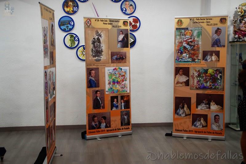 La Agrupación de Ruzafa presentó los bocetos de sus Fallas