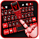 Black Red Tech Keyboard Theme Download for PC Windows 10/8/7