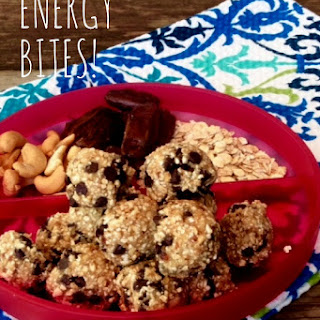 Marzipan Energy Bites