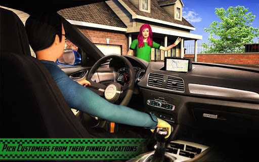 Yellow Cab American Taxi Driver 3D: New Taxi Games  screenshots 14