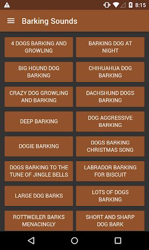 Barking Sounds