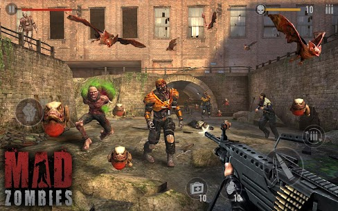 MAD ZOMBIES : Offline Zombie Games Apk Download For Android and Iphone 5