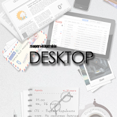 Desktop Zooper Widget Skin
