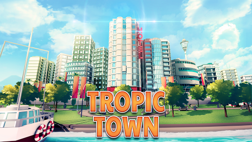 Town Building Games: Tropic Town Island City Sim  screenshots 5