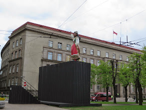 Photo: Four statues come out of that box