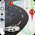 GPS Speedometer & Route Finder Map icon