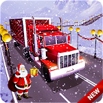 Impossible Truck Driving On Christmas Tracks Icon