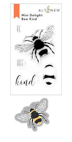 Altenew Mini Delight Stamp & Die Set - Bee Kind