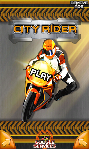 Motorcycle Racing Rider