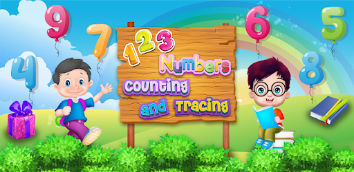 123 Numbers Counting And Tracing Game for <b>Kids</b>