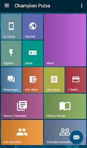 Cara Transaksi via Aplikasi Android di Server Pulsa Champion Reload Bali