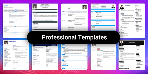 Resume Builder App Free CV maker CV templates 2020 screenshot 5