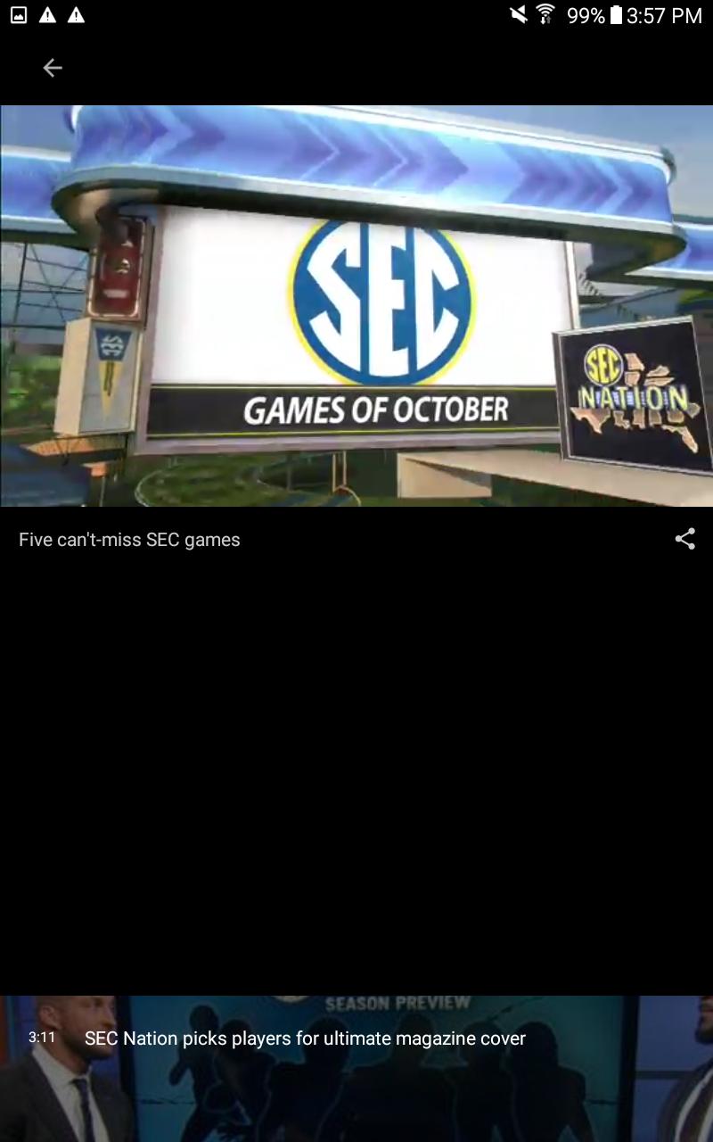 ESPN screenshot #15