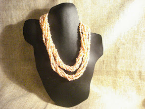 Photo: <BEREHYNYA> {Great Goddess Protectress} unique one-of-a-kind statement jewellery by Luba Bilash ART & ADORNMENT  Pink freshwater pearls, 14K gold vermeil NFS  http://www.wikihow.com/Clean-A-Pearl-Necklace