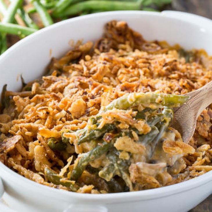 Cheesy Green Bean Casserole Recipe | Yummly